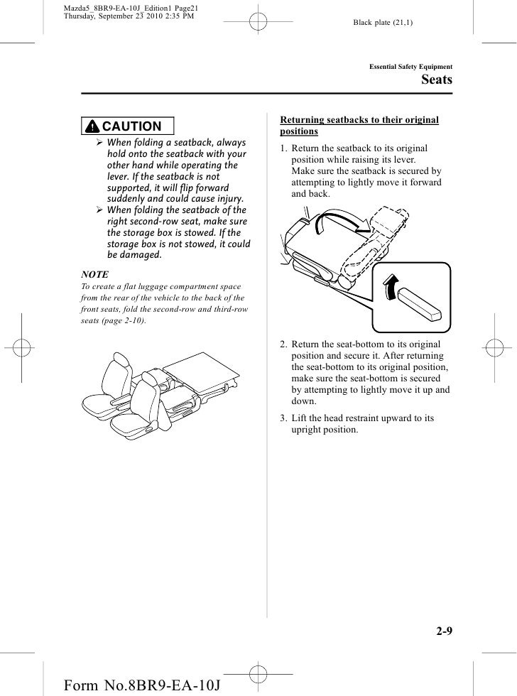 2010 mazda mazda5 brake fuse manual 2010 mazda mazda5. Black Bedroom Furniture Sets. Home Design Ideas