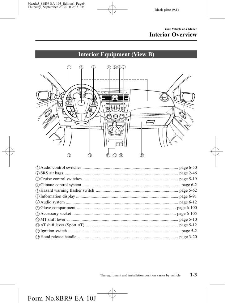 2012 mazda 5 interior wiring diagrams repair wiring scheme Toyota Stereo Wiring Harness Dual Stereo Wiring Harness Diagram