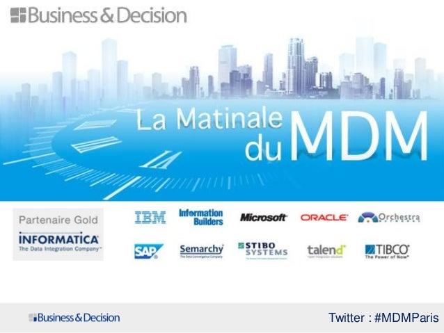 Twitter : #MDMParis