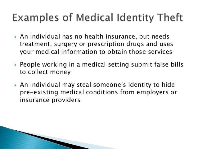 medical identity theft essay