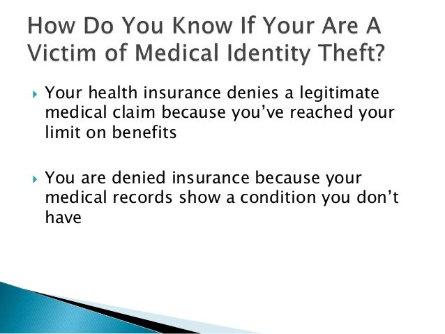 medical identity theft The average medical identity theft costs $13,500 to fix, but can affect other areas of life and home, such as: 1) loss of health coverage.