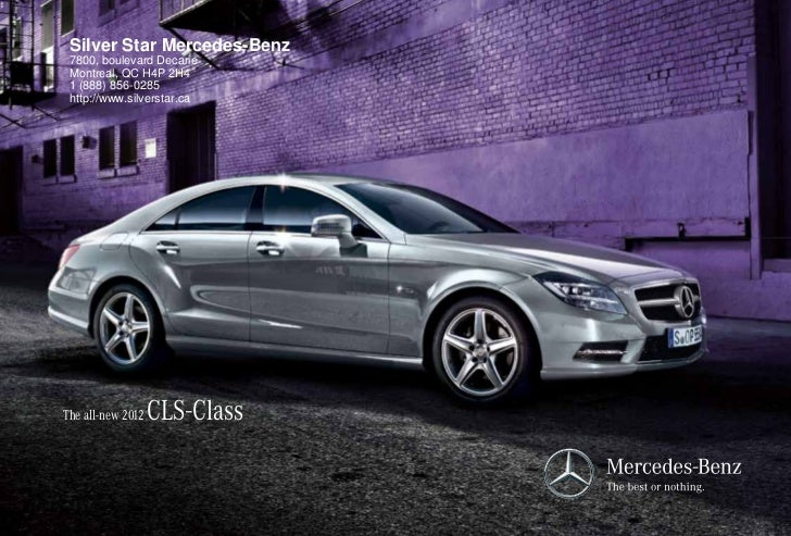2012 mercedes benz cls for sale qc mercedes benz dealer for Mercedes benz dealers in germany