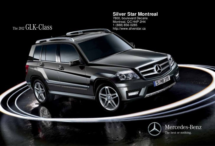 2012 mercedes benz glk class for sale qc mercedes benz for Mercedes benz quebec