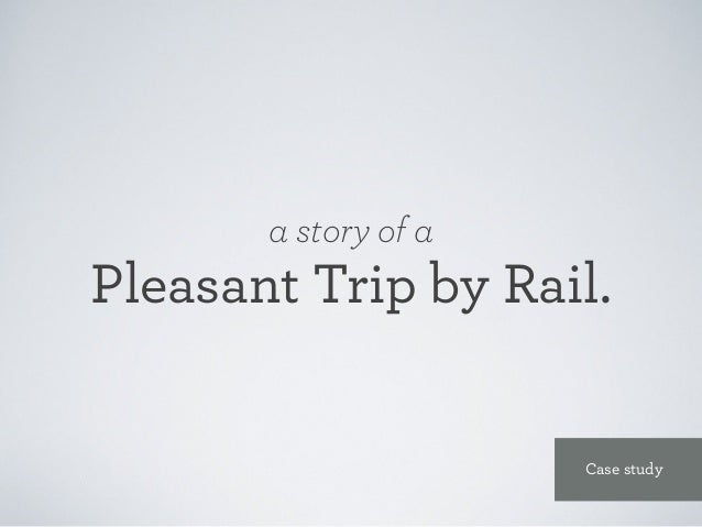 We wanted to take an outside-in approach, understanding the customers travel experience and Rail Europe's role in that exp...