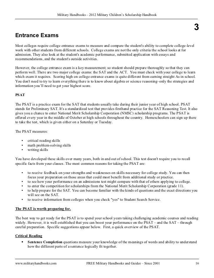 free scholarship essays