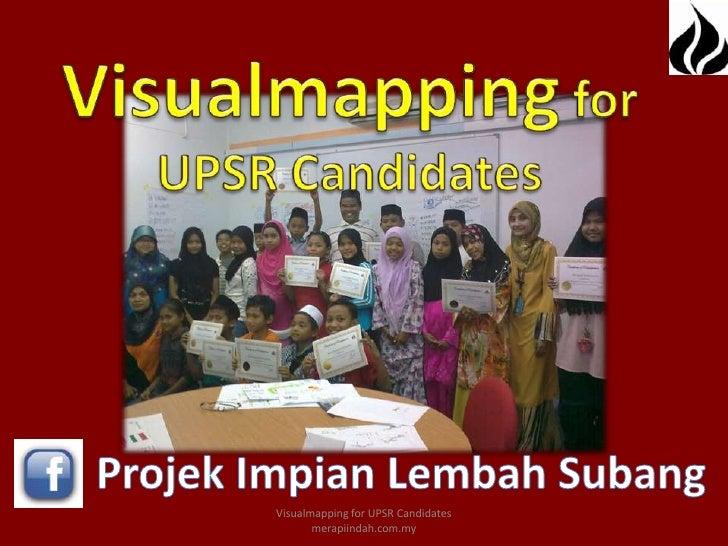 Visualmapping for UPSR Candidates       merapiindah.com.my