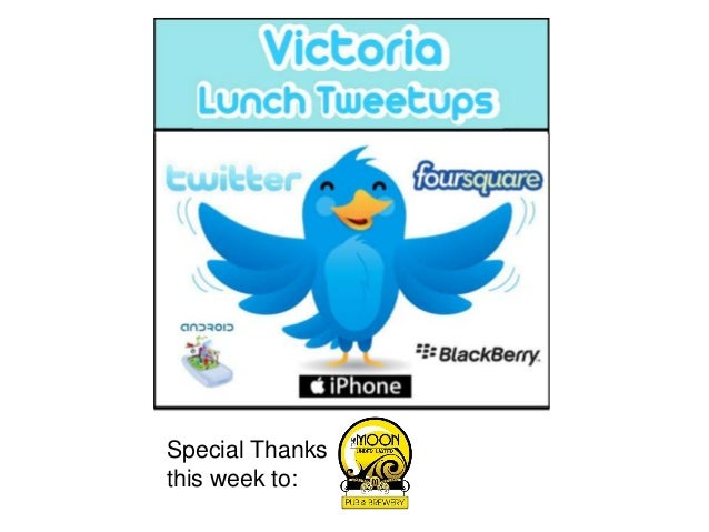 Special Thanksthis week to: