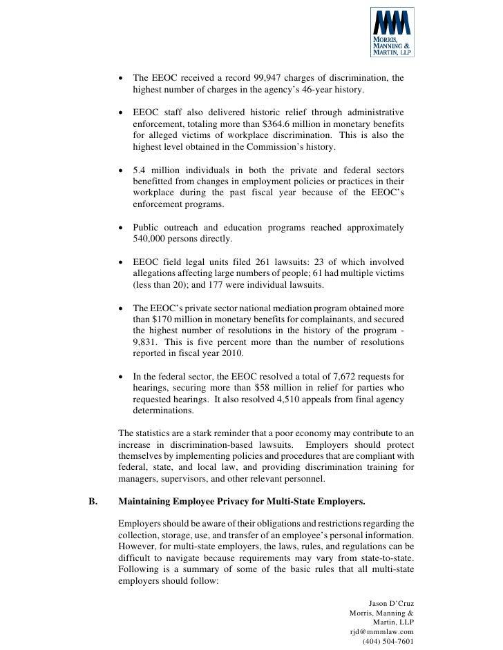 2012 MSEC Legal Update