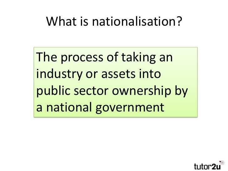 nationalization examples