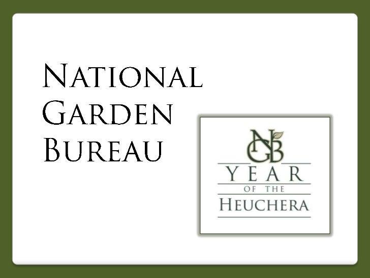 2012 National Garden Bureau Year of the Heuchera