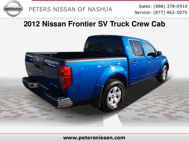 Used 2012 Nissan Frontier SV Truck Crew Cab - Used Cars in Nashua, NH