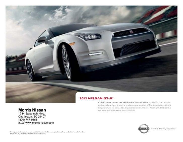 ... SC | Nissan Dealer Charleston. 2012 NiSSAn Gt R® ...