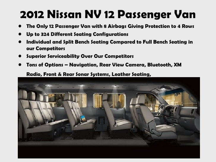 2012 nissan nv 12 passenger van. Black Bedroom Furniture Sets. Home Design Ideas