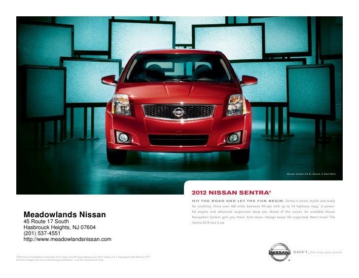Nissan Sentra 2.0 SL shown in Red Alert.                                                                                  ...