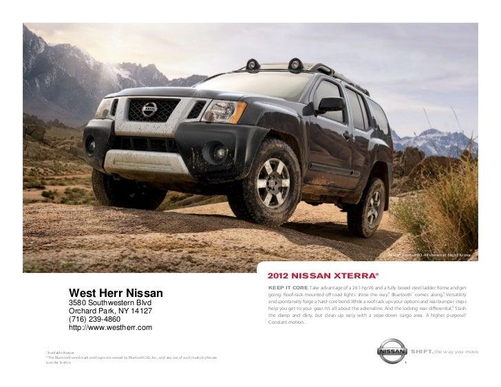 Captivating ... NY | Nissan Dealer Near Buffalo. Nissan Xterra Pro 4x Shown In Night  Armor. ...