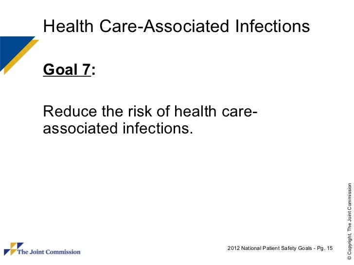 healthcare associated infection success in reducing