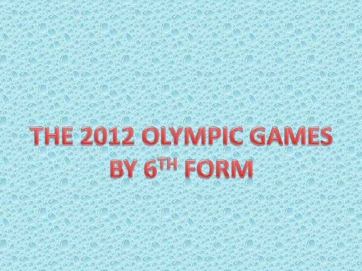 The Olympic games are multidisciplinarysporting events involving athletes fromaround the world, in ancient Greece theywere...
