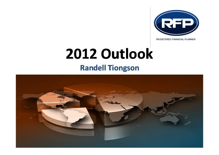 2012 Outlook Randell Tiongson