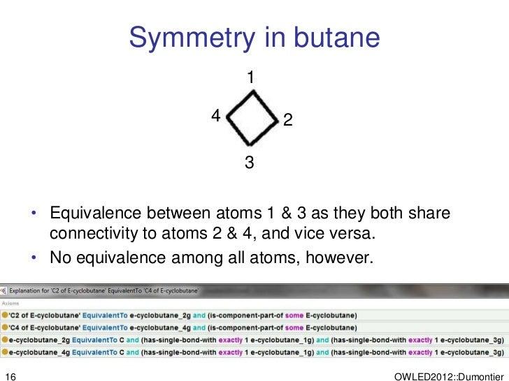 Symmetry in butane                               1                           4        2                               3   ...