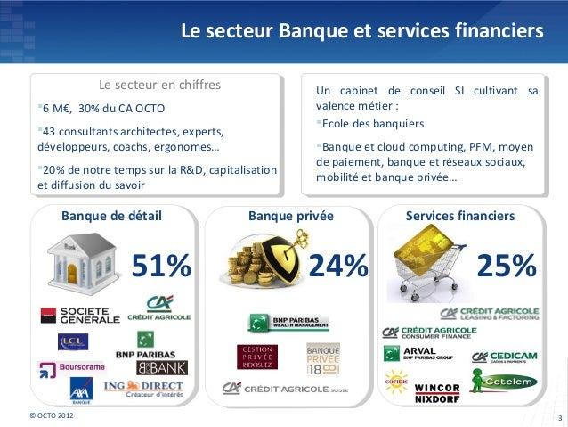 OCTO 2012 - Banque du futur 2020 : scenarios 2020 Slide 3