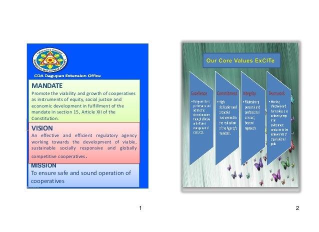 2012 Annual Report of CDA Dagupan Extension Office Slide 3