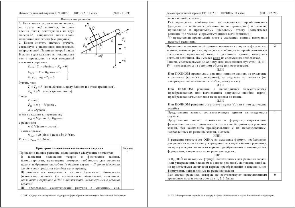 Егэ физика 2012 задачи решениями примеры решения задач на колебания