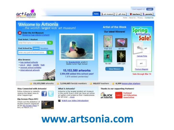www.artsonia.com
