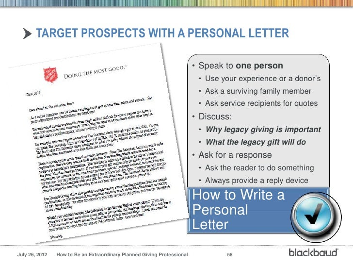 planned giving professional 57 58 sample planned giving letters