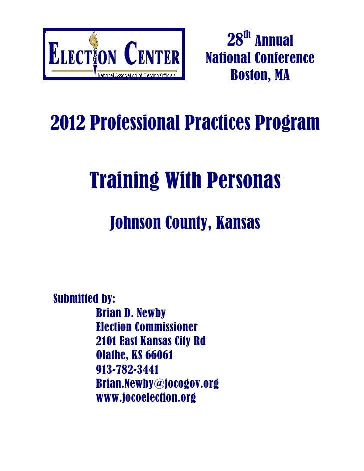 28th Annual                              National Conference                                   Boston, MA2012 Professional...