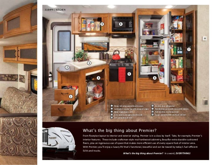 Travel Trailers With Big Living Rooms