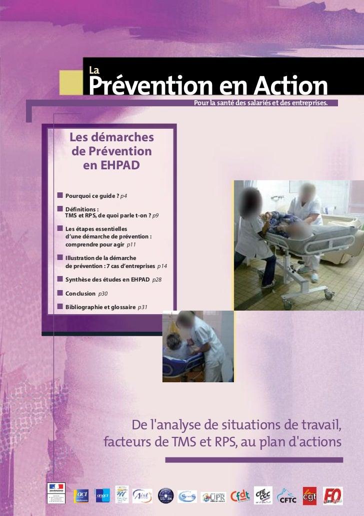 La            Prévention en Action              Pour la santé des salariés et des entreprises.     Les démarches     de Pr...