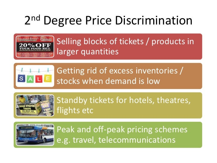3 forms of price discrimination