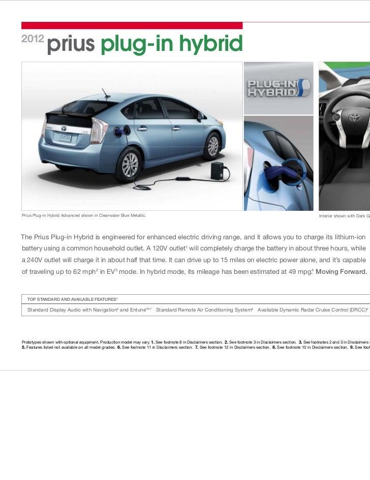 2012 prius plug in owners manual