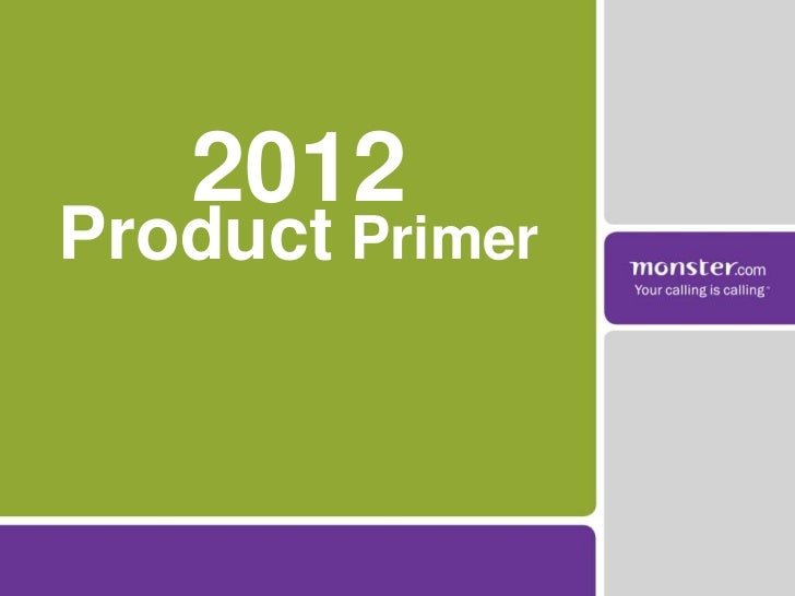 2012Product Primer