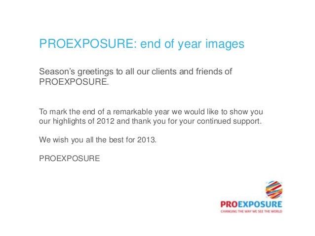 PROEXPOSURE end of year images Slide 2