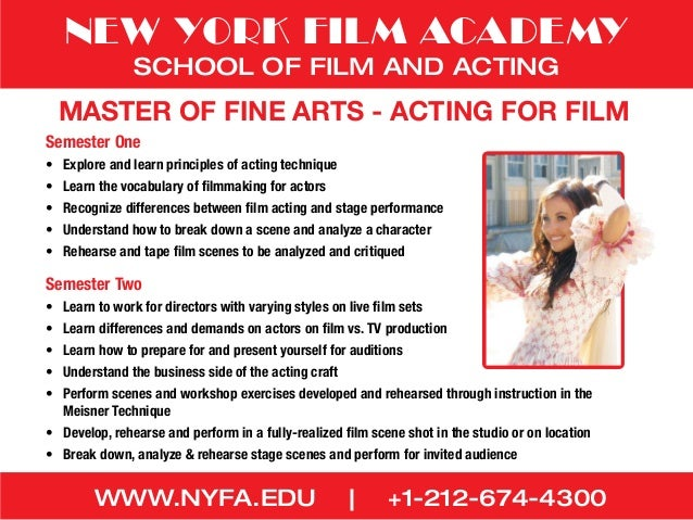 nyfa thesis film 32 reviews of new york film academy los angeles i went there to listen the only life you have in your background are other students making their film a nyfa t-shirt is probably worth more than a they schedule you to shoot your thesis but you still have class during that which you will.