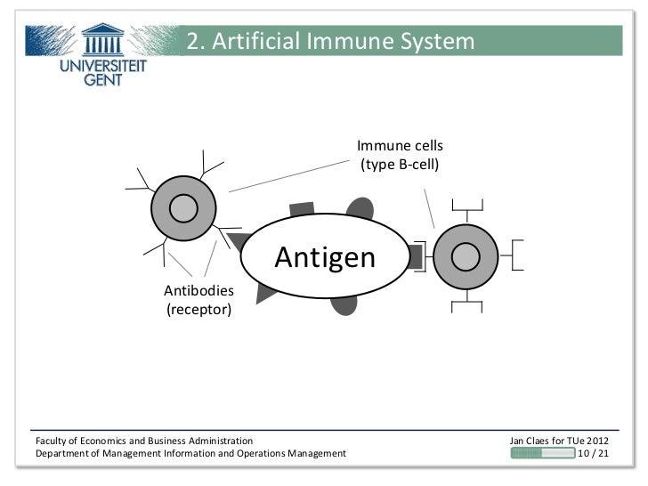 2. Artificial Immune System                                                                 Immune cells                  ...