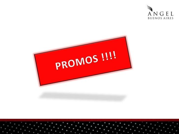PROMOS Verano 2012 Angel Bueno Aires  Slide 2