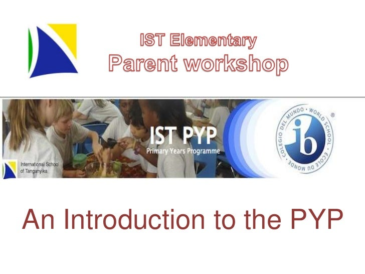 An Introduction to the PYP