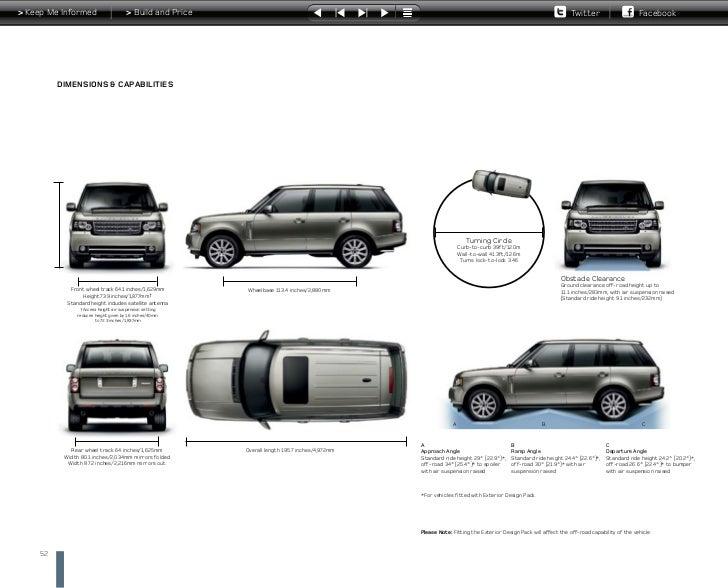 range rover vogue interior dimensions. Black Bedroom Furniture Sets. Home Design Ideas