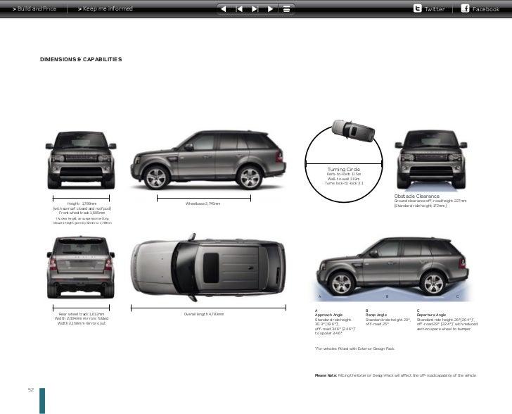 range rover interior dimensions. Black Bedroom Furniture Sets. Home Design Ideas