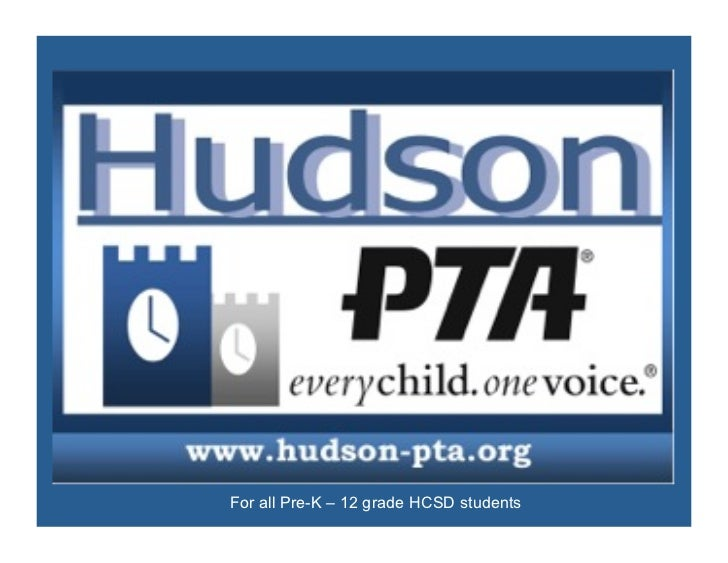 The 2012           National PTAArt Reflections Program    For all Pre-K – 12 grade HCSD students