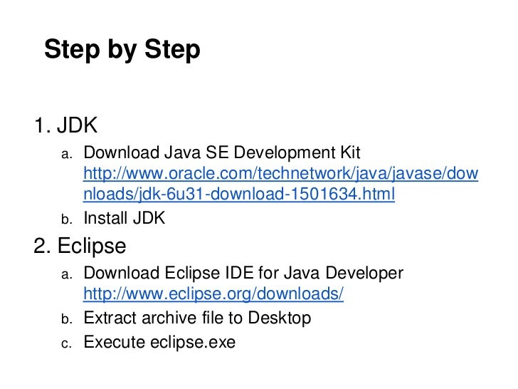 2012 S CE1002A - Howto Setup Java Programming Environment
