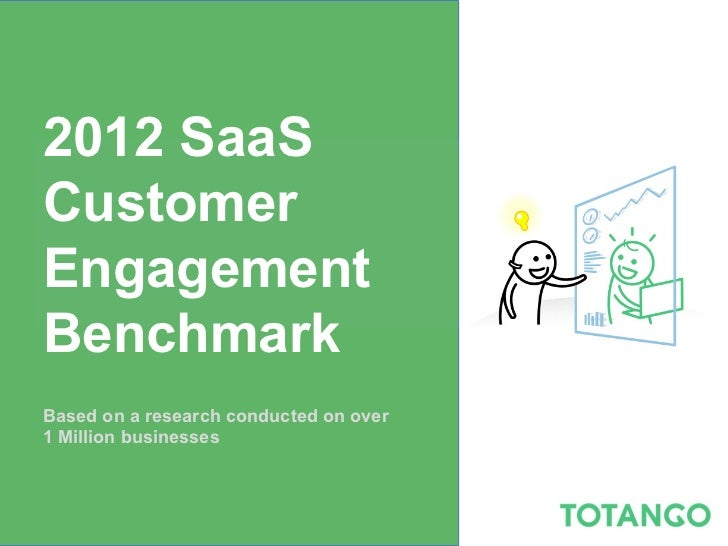 2012 SaaSCustomerEngagementBenchmarkBased on a research conducted on over1 Million businesses