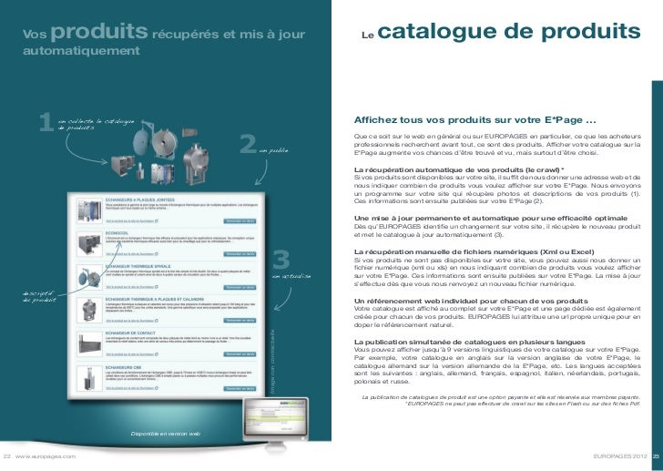 Vos     produitsrécupérés et mis à jour                                                          Le   catalogue de produit...