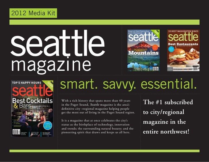 seattle magazine 2012 media kit. Black Bedroom Furniture Sets. Home Design Ideas