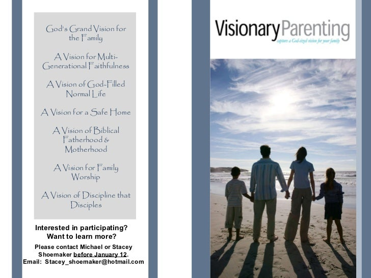 God's Grand Vision for            the Family                                       You.       A Vision for Multi-     Gene...
