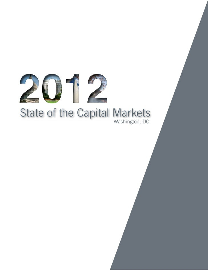 State of the Capital Markets                    Washington, DC