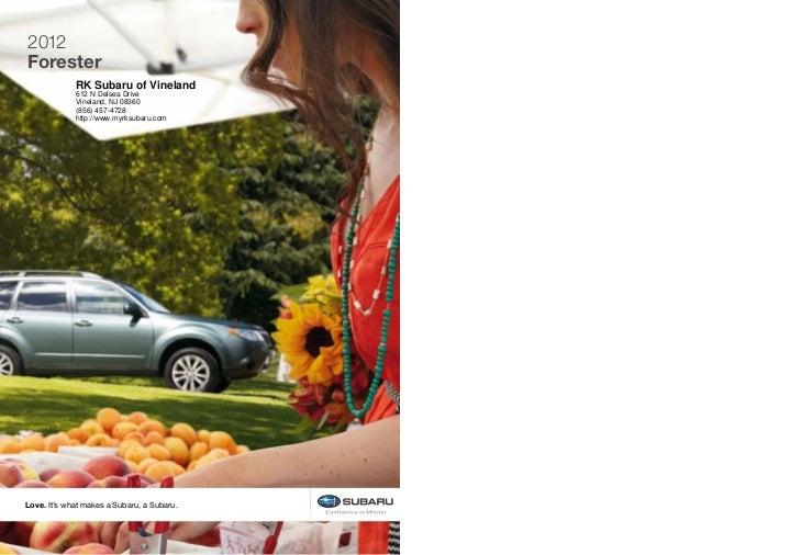 2012 Subaru Forester For Sale Nj Subaru Dealer Near