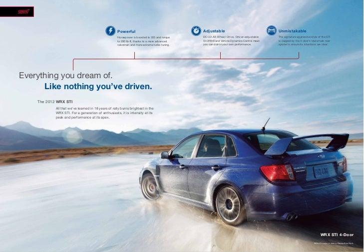 2012 Subaru Impreza WRX For Sale NY | Subaru Dealer Near ...